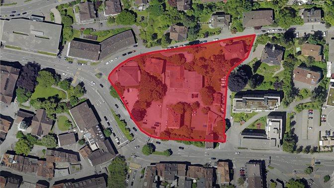 Karte Campus Platztor
