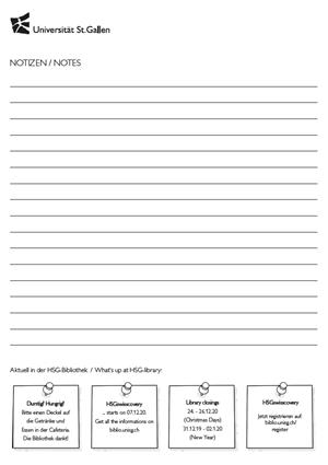 Notizpapier